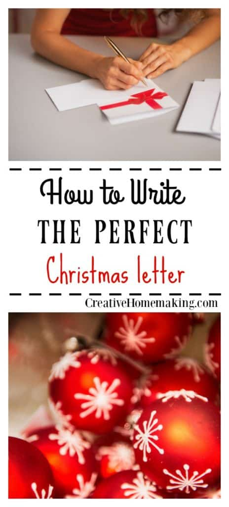 Christmas letter ideas and expert tips for writing the perfect Christmas letter to send out to friends and family during the holiday season.