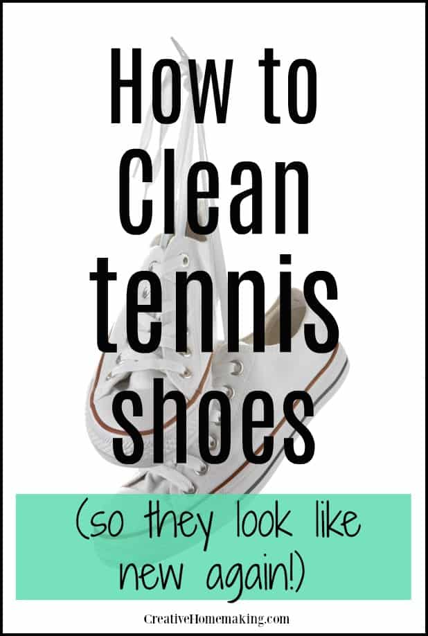 Easy DIY tips for cleaning your running shoes.