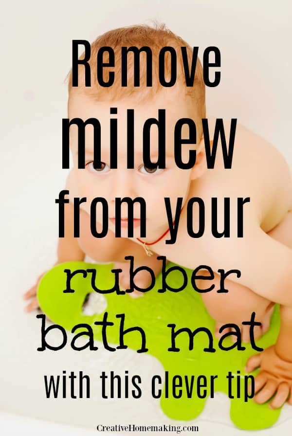 Can you wash your bath mat in your washing machine? This question answered and more! How to remove mildew from bathtub mats and how to remove bath mat stains from your bathtub.