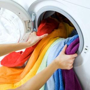 Easy homemade liquid laundry soap make from Borax, washing soda, and Fels Naptha. One of my favorite laundry washing tips.