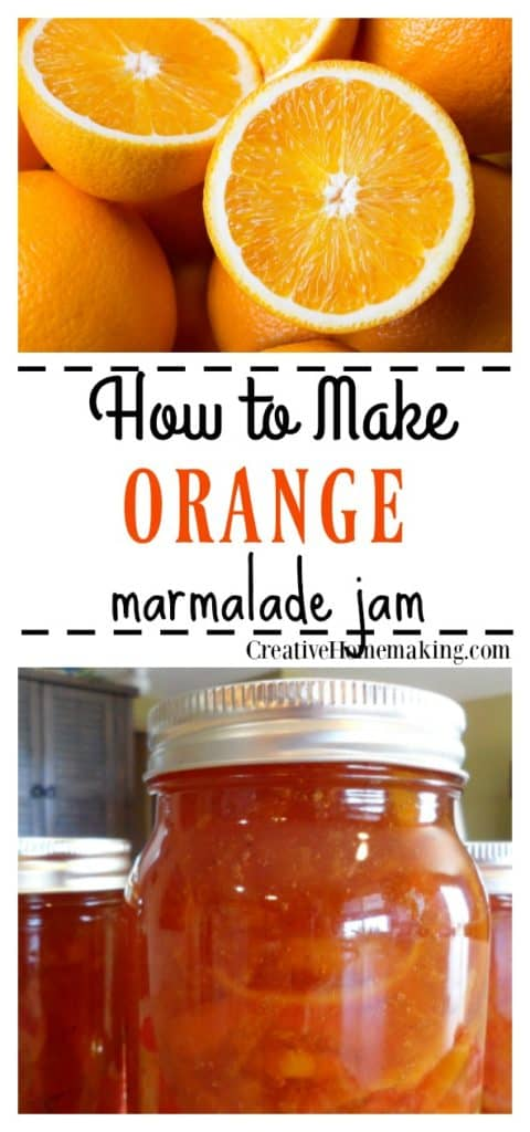 Easy recipe for making old-fashioned orange marmalade jam with no pectin. Quick and easy marmalade recipe for canning!