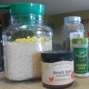 Easy homemade rice mix recipe you can make from scratch with ingredients you probably already have on hand. One of many inexpensive rice mixes recipes from scratch!