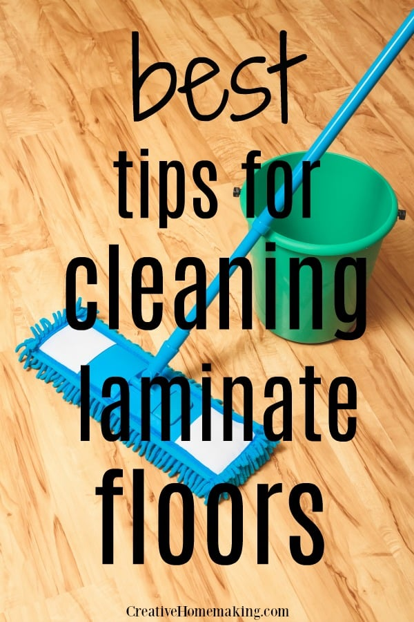 The BEST tips for cleaning laminate floors. Some of my favorite floor cleaning hacks!