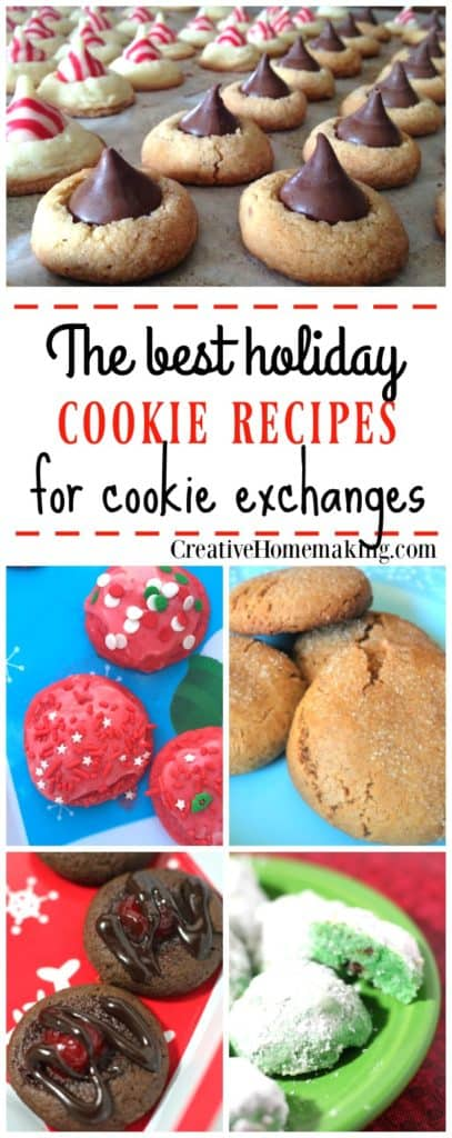 The best Christmas cookie exchange recipes.