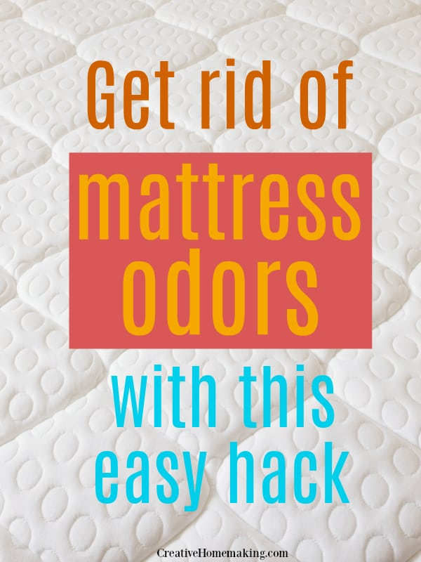 Eliminate mattress odors with this easy DIY cleaning hack!