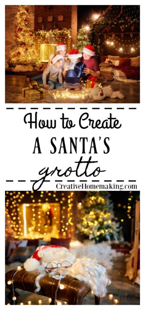 Fun, creative Santa's grotto ideas to turn any home or room into a magical stop at the North Pole for Christmas.