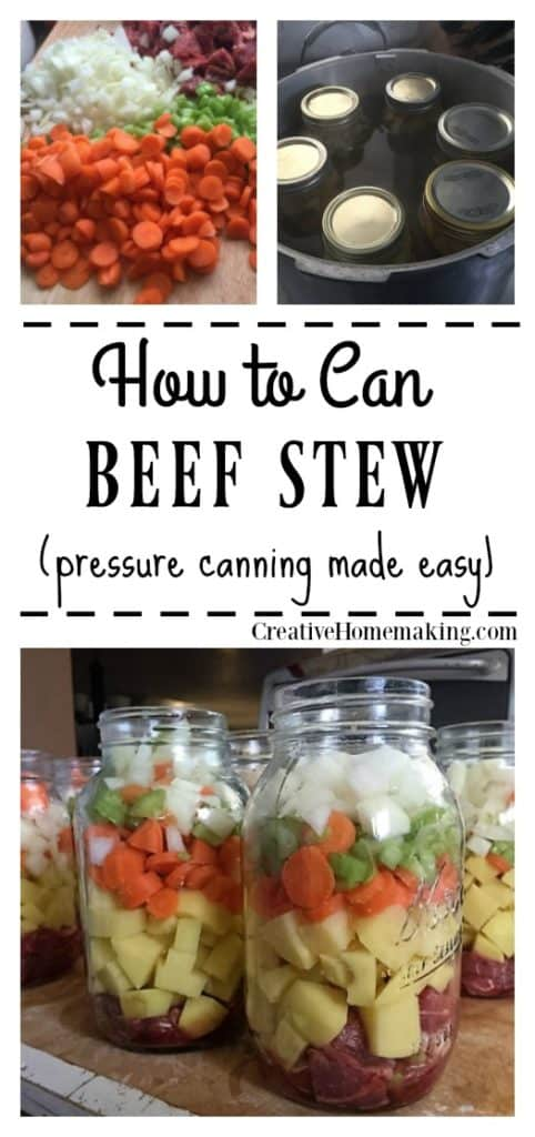 Canning beef stew recipe