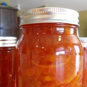 Easy recipe for canning orange marmalade.