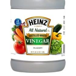 Vinegar uses in the home.