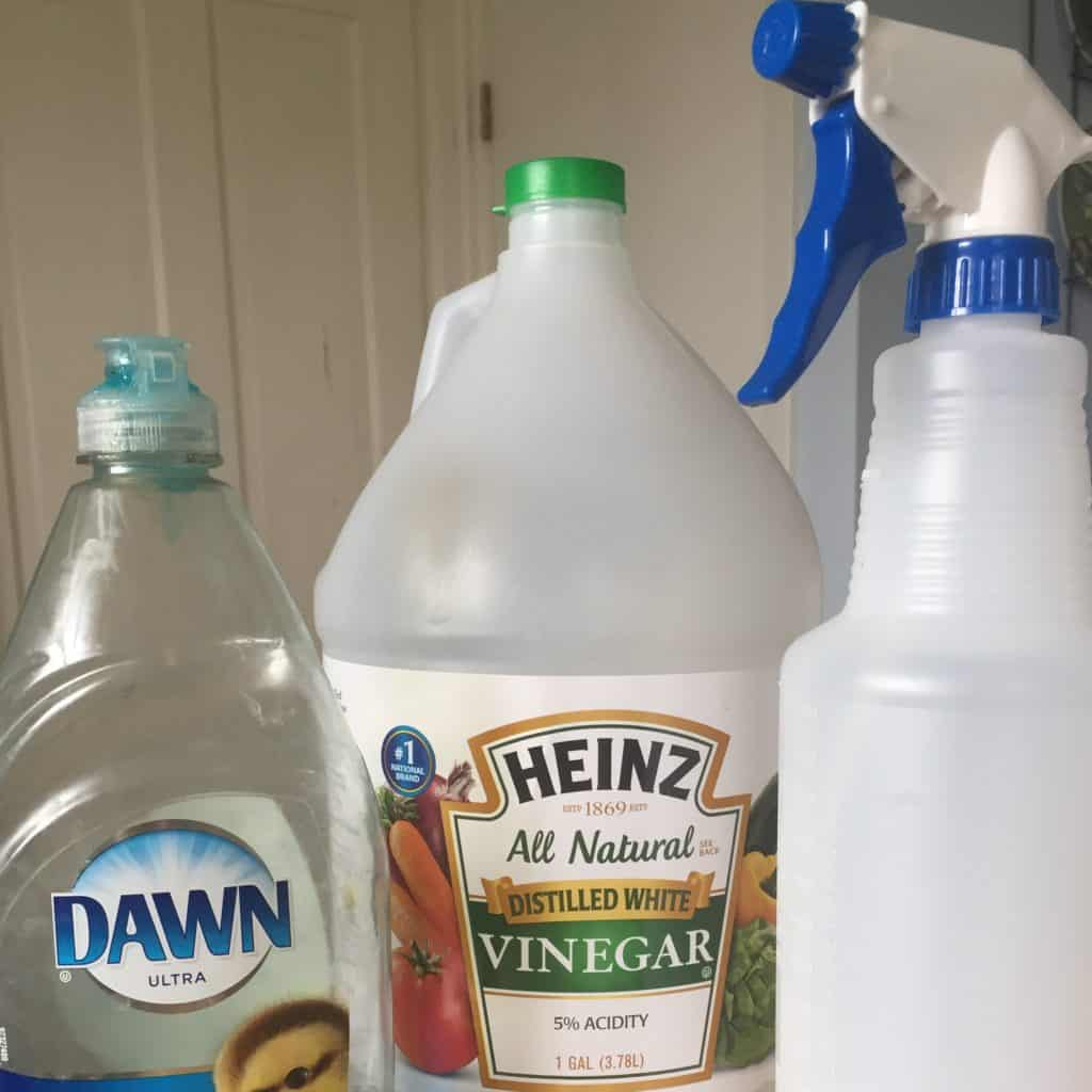 How To Clean Glass Shower Doors With Vinegar And Dawn miracle tub and shower cleaner - creative homemaking