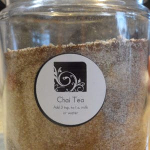 Easy recipe for making your own Chai tea mix. Great mixed with water or milk.