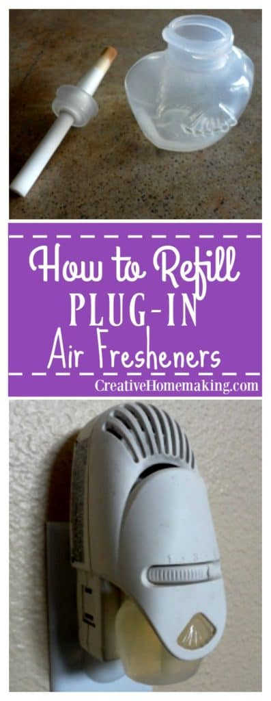 You can easily refill plug-in air fresheners with your favorite essential oils by following these step-by-step instructions.