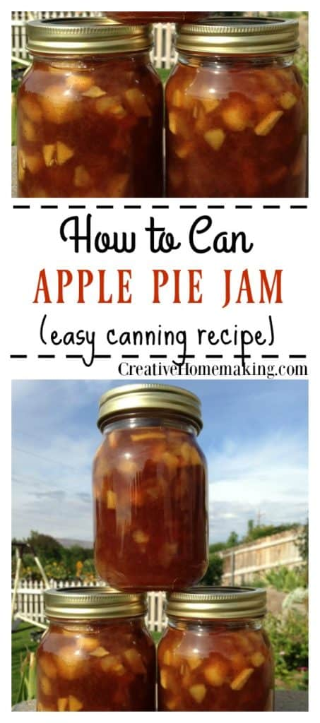 Apple pie is always a great treat, but have you ever tried apple pie jam? This stuff is amazing! Get the step-by-step instructions for canning apple pie jam.