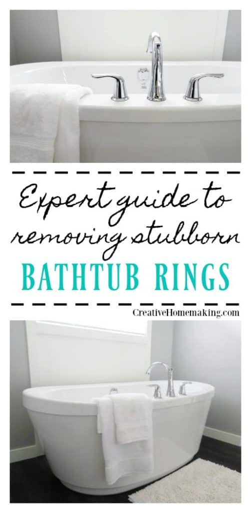 Expert tips for cleaning and removing stubborn bathtub rings.
