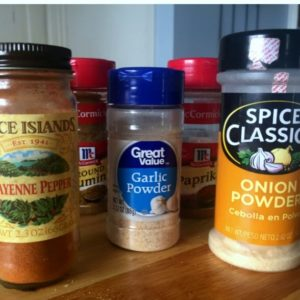 Easy chili seasoning mix you can make a home from just a few simple ingredients. Easy inexpensive alternative to store bought mixes.