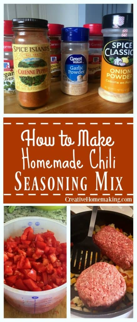 Easy chili seasoning mix you can make a home from just a few simple ingredients.