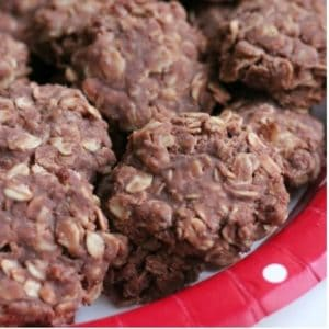 No bake cookie recipe. Easy chocolate no-bake cookies that turn out perfect every time.