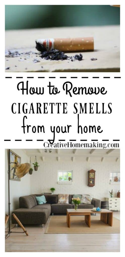 Allergic to cigarette smoke? Or does the house you just moved in to smell of cigarette smoke? Get rid of cigarette smells with these expert tips.