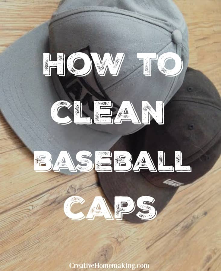 Step by step cleaning tips for washing a dirty baseball cap so that it looks as good as new.