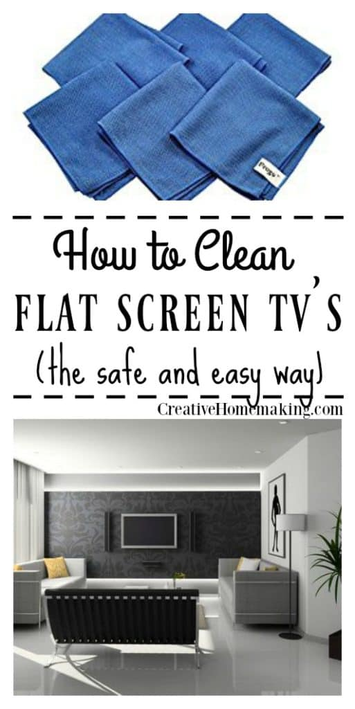 Cleaning the screen of a flat screen tv is easy if you follow these simple steps. Flat screens can be damaged very easily, so clean them with care.