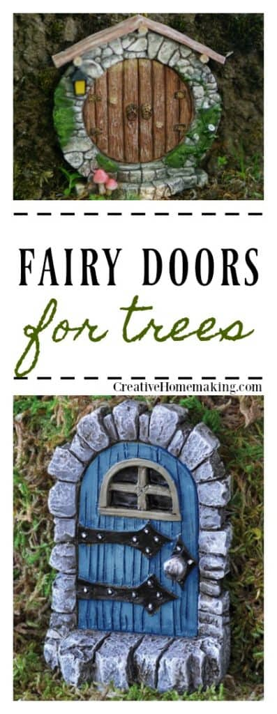 These fairy doors for trees are the perfect accessories for your DIY fairy garden.