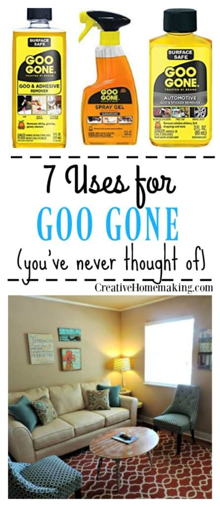 I love Goo Gone! Goo Gone has many cleaning uses you've never thought of or heard of before. Find out all the many uses of Goo Gone for sticker and stain removal in your home.