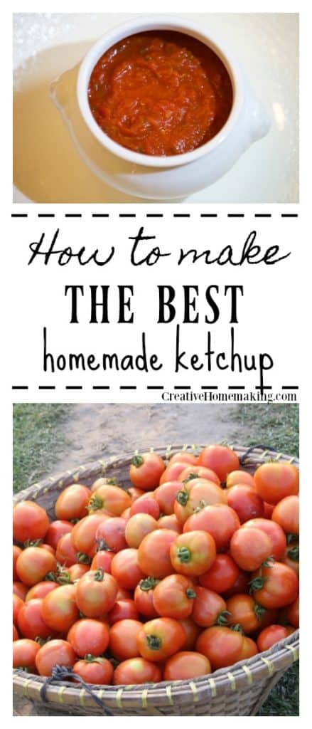 Tips and recipe for making your own ketchup.