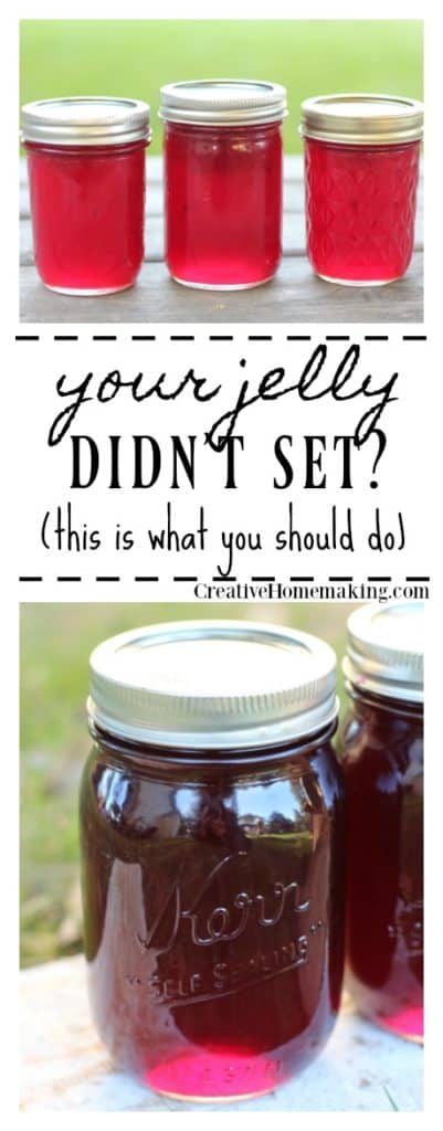 There is almost nothing more frustrating when canning than having your jelly not set. Yes, you can re-cook it!
