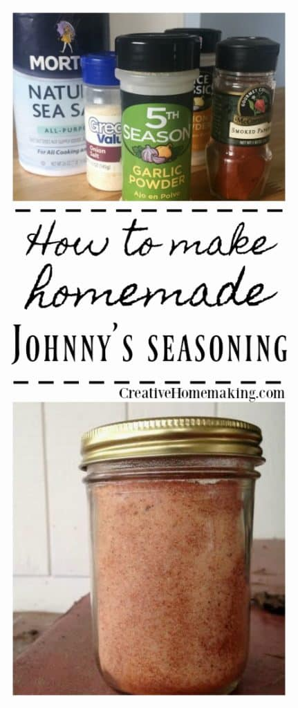 Homemade seasoning mix.. If your family loves Johnny's seasoning salt then give this easy MSG-free recipe a try.