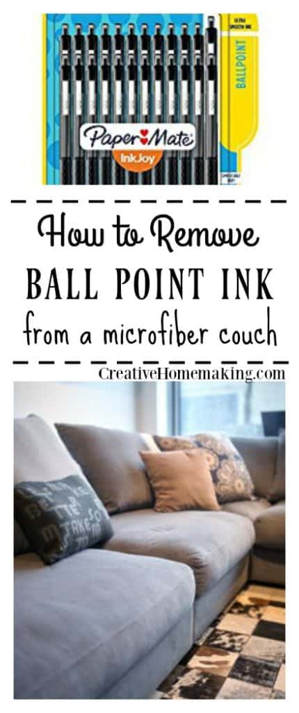 Magnificent How To Remove Ink From A Microfiber Couch Creative Homemaking Creativecarmelina Interior Chair Design Creativecarmelinacom