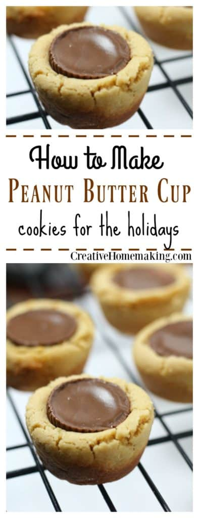 These easy Christmas peanut butter cup cookies are the perfect combination of chocolate and peanut butter. Great for holiday or Christmas cookie exchanges!