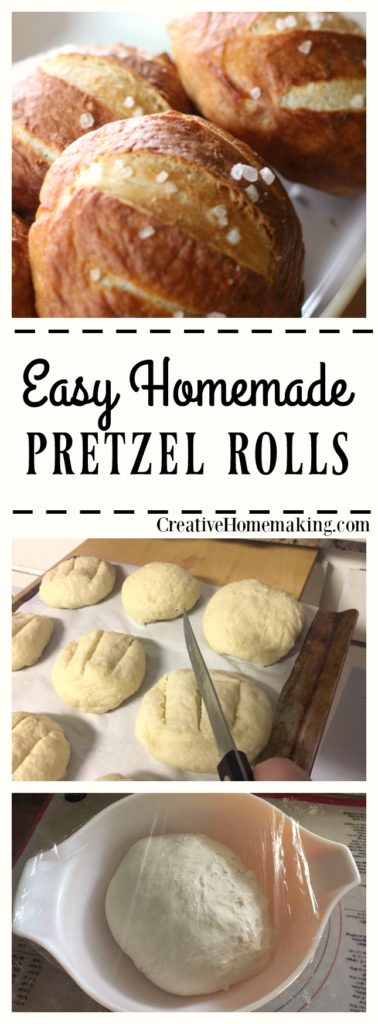 Do you love pretzel rolls but have a hard time finding them at the store? Make them yourself at home, homemade pretzel rolls are the best!