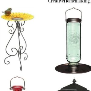 Unique bird feeders for every bird watcher. Find bird feeders for all types of birds, and even feeders that will keep the squirrels out!