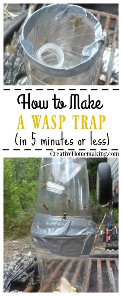 How To Make A Homemade Wasp Trap Creative Homemaking