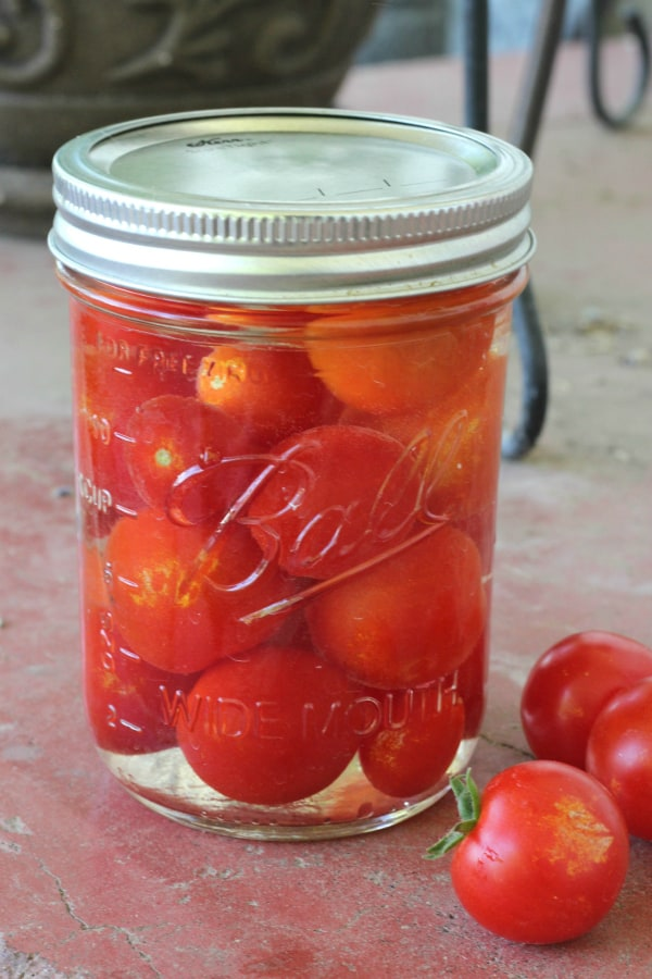 Pickled cherry tomatoes canning recipe