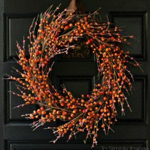 10 Diy Fall Wreaths To Make For Your Front Door Creative Homemaking
