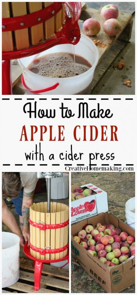 How to make cider with a apple cider press. Fun fall activity for the entire family, start a new yearly tradition your family will enjoy for generations.