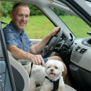 5 easy ways to remove dog smell from your car. These easy cleaning hacks will get the pet odor removed from your car in no time.