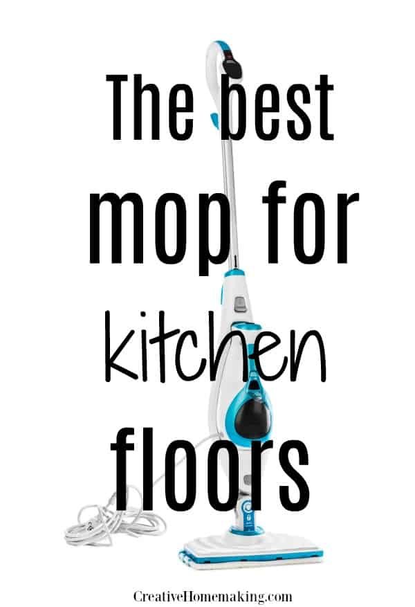 Reviews of the best mops for cleaning kitchen floors. Find out what type of mop to use for laminate, hard wood, vinyl, linoleum, and tile floors.