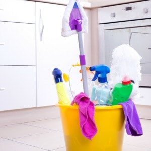 Easy DIY recipes for the best homemade floor cleaners for spray mops.