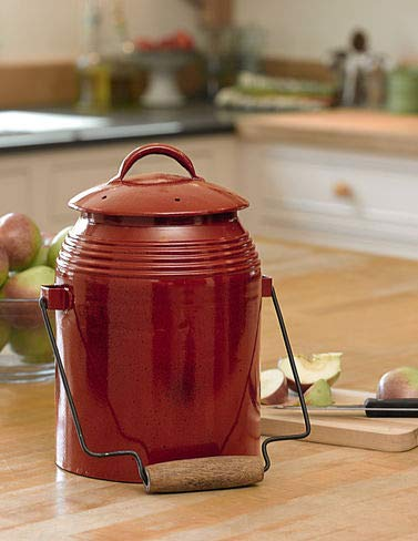 Gardener's Supply Company Rustic Farmhouse Style Kitchen Compost Crock