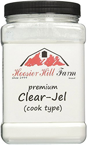 Hoosier Hill Farm Clear Jel Thickener (cook type) large bulk 2 3/4 lb.Jar