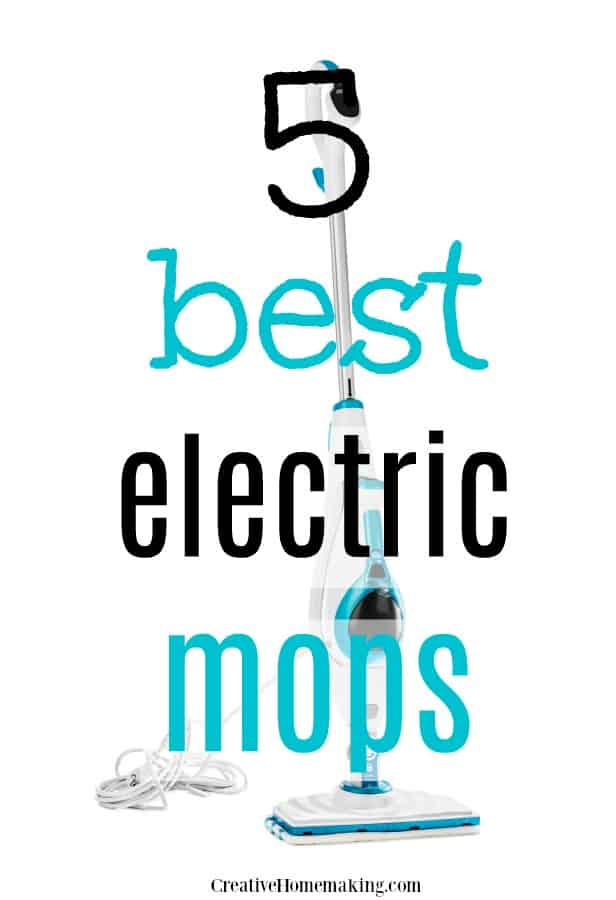 Reviews of the 5 best electric mops for floor cleaning. If you're going to invest in a new mop, it's important to check out all of the options first!
