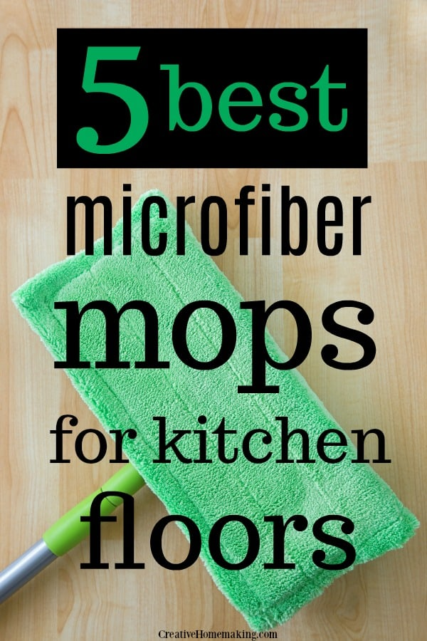 The best microfiber mops for kitchen floors! Find out the BEST spray mop, wet mop, dry mop, dust mop, and the best microfiber mop for hardwood floors.