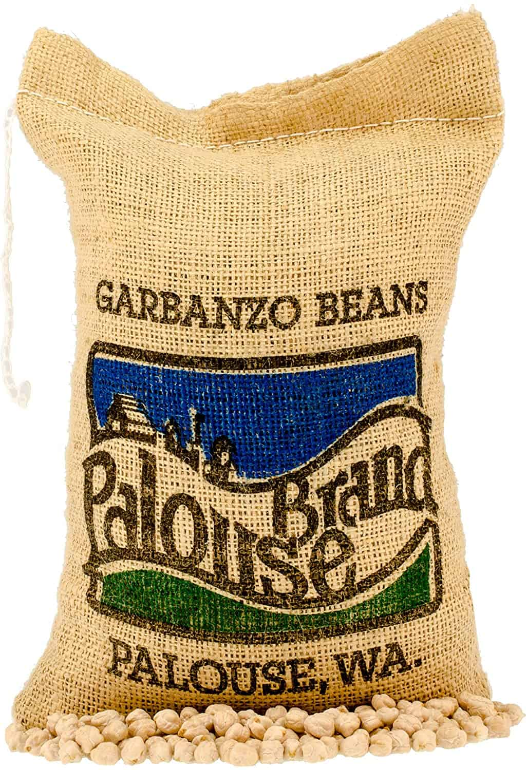 Garbanzo Beans aka Chickpeas or Ceci Beans   5 LBS   Non-GMO Project Verified   100% Non-Irradiated   Certified Kosher Parve   USA Grown   Field Traced