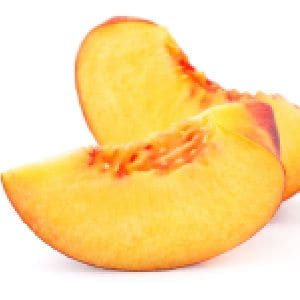Easy tips for freezing sliced peaches for smoothies!