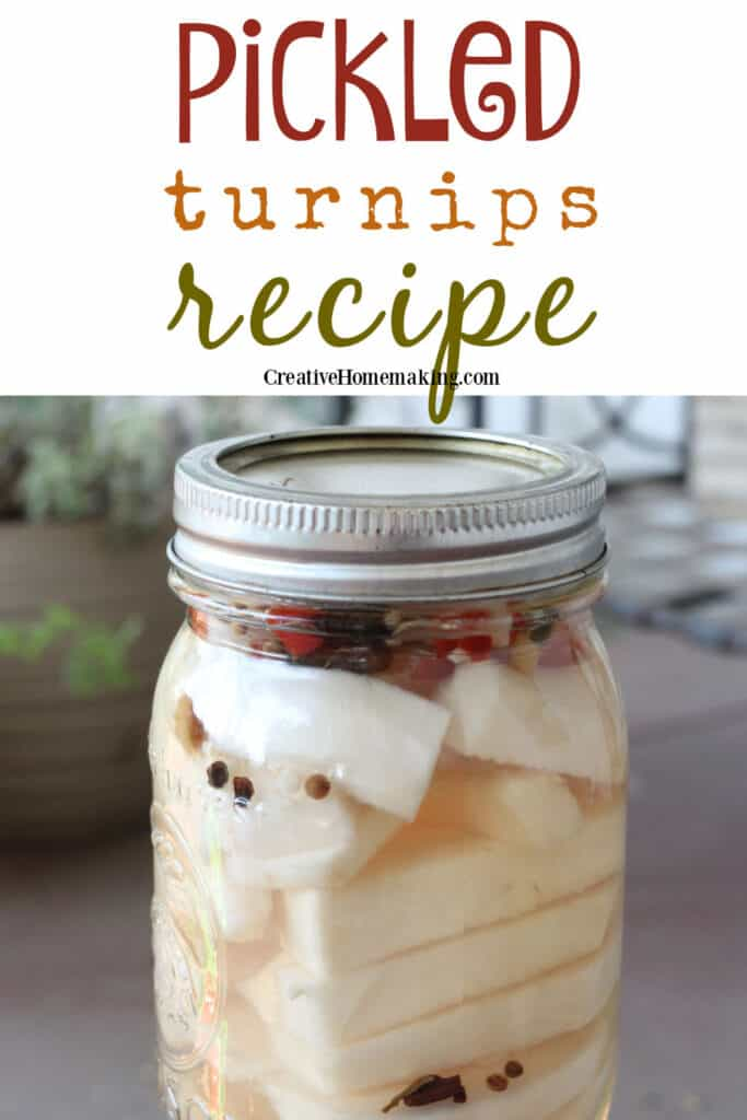 These quick pickled turnips recipe or easy Lebanese style turnips are great for refrigerating or canning. One of my favorite summer pickling recipes!